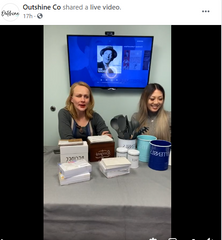 Keri and Mina from Outshine Co in first live sale video