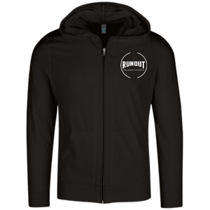 Runout Billiards Clothing - District Lightweight Full Zip Hoodie