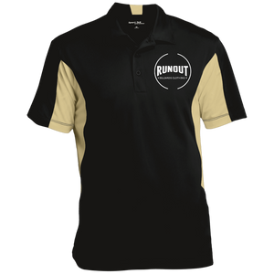 Runout Billiards Clothing - Sport-Tek Tall Colorblock Performance Polo