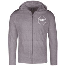 Load image into Gallery viewer, Runout Billiards Clothing - District Lightweight Full Zip Hoodie
