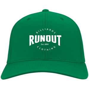 Runout Billiards Clothing - Port & Co. Twill Cap