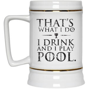Game of Thrones Billiards - Beer Stein 22oz.