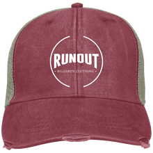 Load image into Gallery viewer, Runout Billiards Clothing - Distressed Ollie Cap