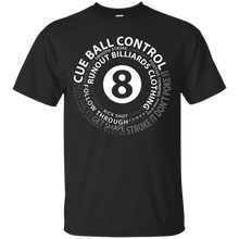 Load image into Gallery viewer, Runout Billiards Clothing - Pool Terms Gildan Ultra Cotton T-Shirt