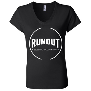 Runout Billiards Clothing - Bella + Canvas Ladies' Jersey V-Neck T-Shirt