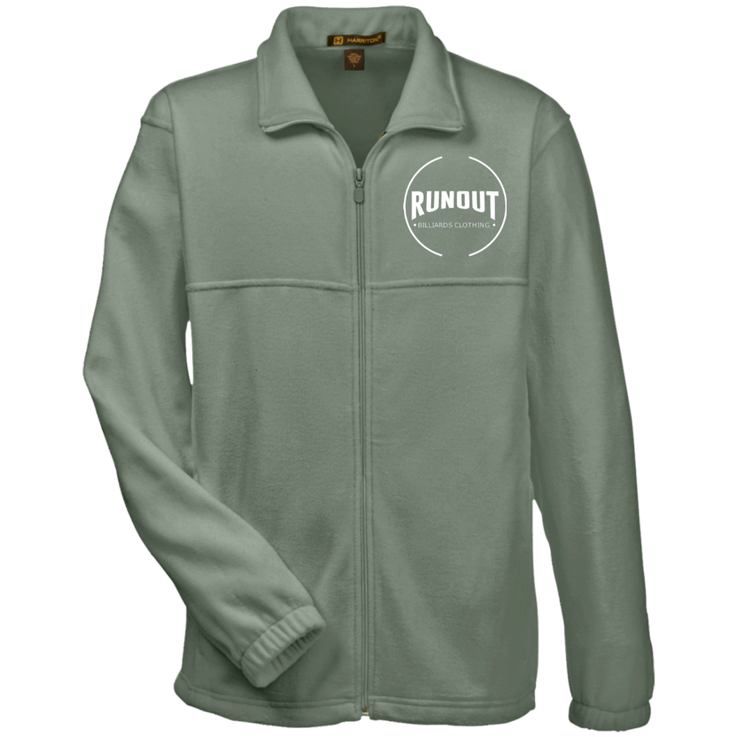 Runout Billiards Clothing - Harriton Fleece Full-Zip