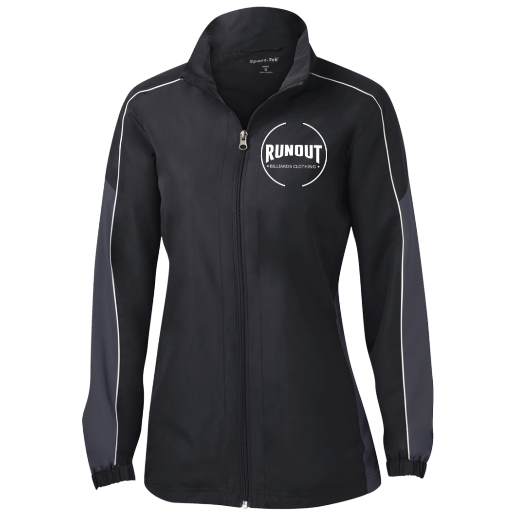Runout Billiards Clothing - Ladies' Piped Colorblock Windbreaker