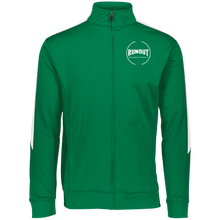 Load image into Gallery viewer, Runout Billiards Clothing - Ladies Augusta Performance Colorblock Full Zip