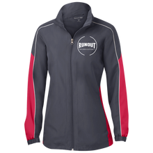 Load image into Gallery viewer, Runout Billiards Clothing - Ladies' Piped Colorblock Windbreaker