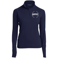 Load image into Gallery viewer, Runout Billiards Clothing - Women's 1/2 Zip Performance Pullover