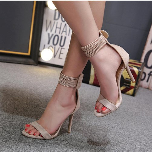 Patty Casual Daily Date High heeled Peep Toe Women Heels