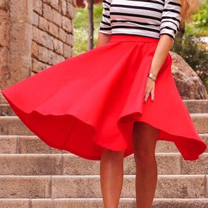 Elegant Fashion High waist Skirts