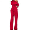 Fashion Half dew 3/4 Sleeve Bowknot  Jumpsuits