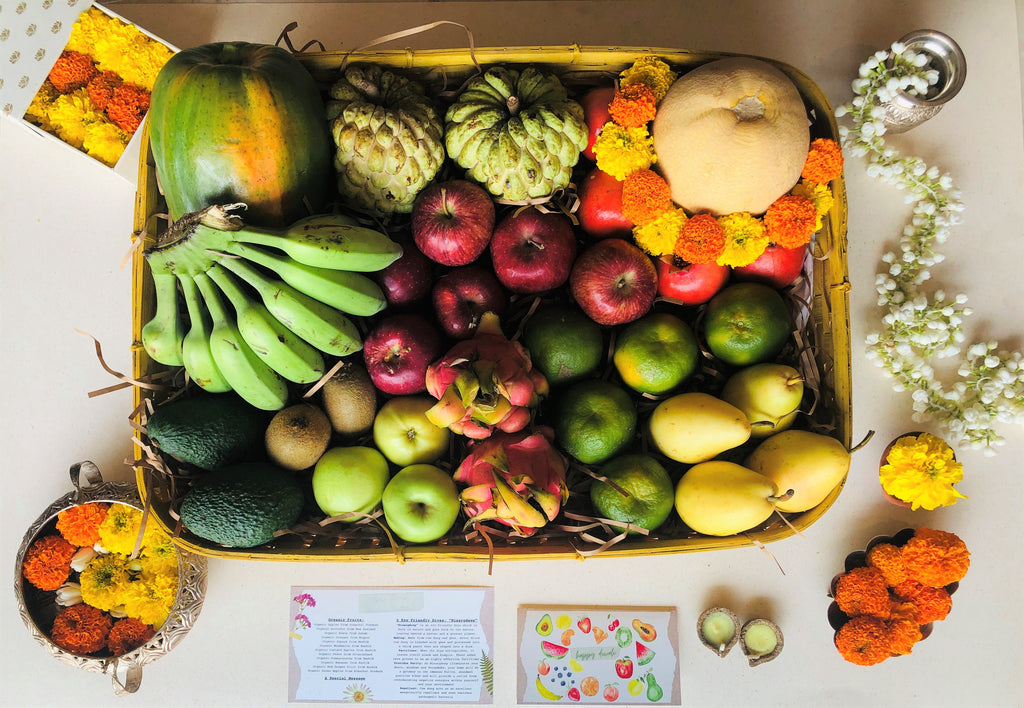 Organic Fruit Hamper/Basket