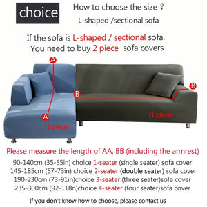 Red Waterproof Sofa SlipCover