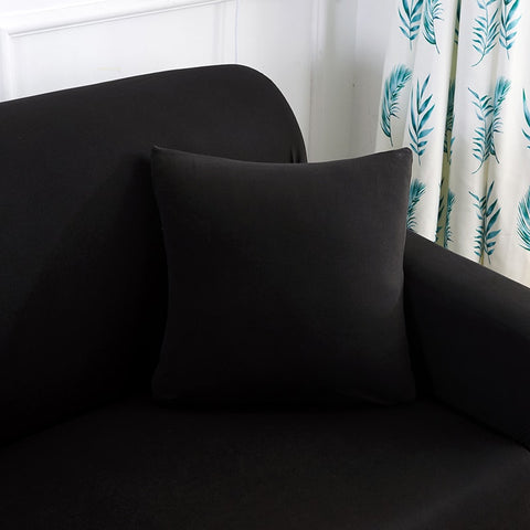 Image of Black Waterproof Sofa SlipCover