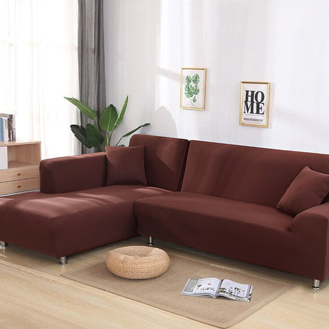 Brown Waterproof Sofa SlipCover