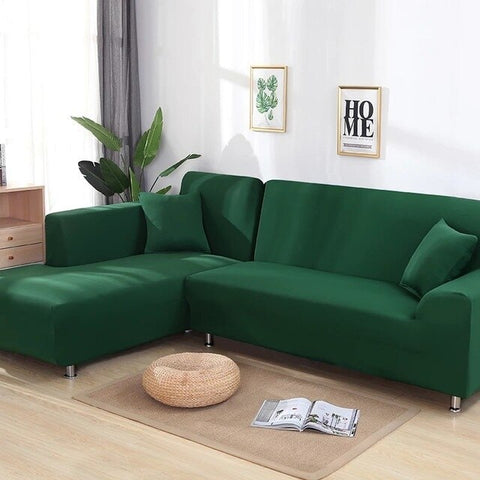 Image of Light Green Waterproof Sofa SlipCover