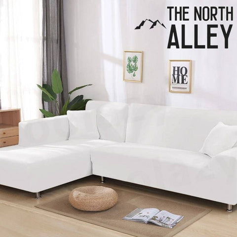 White Waterproof Sofa SlipCover