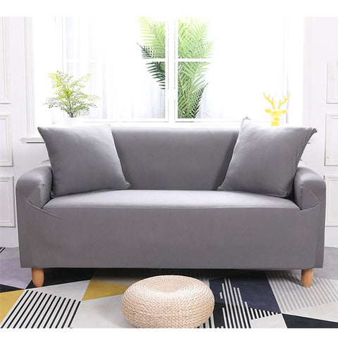Light Grey Waterproof Sofa SlipCover