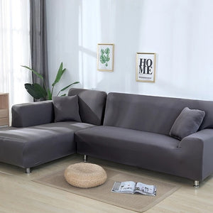 Dark Grey Waterproof Sofa SlipCover