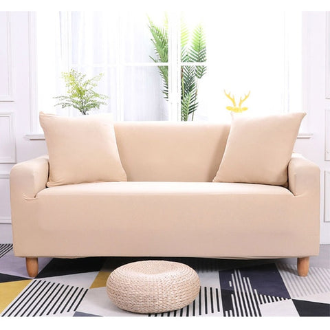 Creamy Waterproof Sofa SlipCover