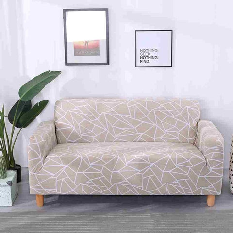 Calming Scribble Waterproof Sofa SlipCover