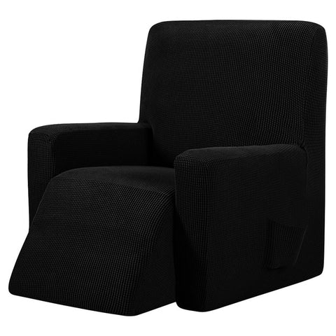 Black Recliner Cover