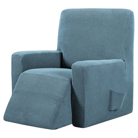 Light Blue Recliner Cover