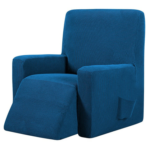 Blue Recliner Cover