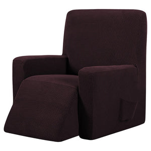 Brown Recliner Cover