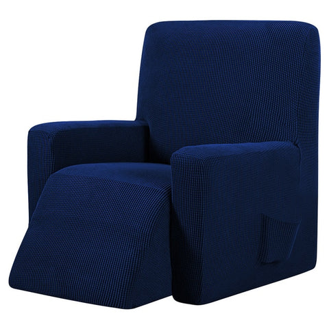 Navy Blue Recliner Cover