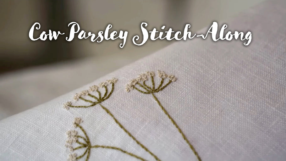 Cow Parsley Stitch-Along