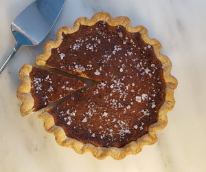 Salted Honey Chess Pie