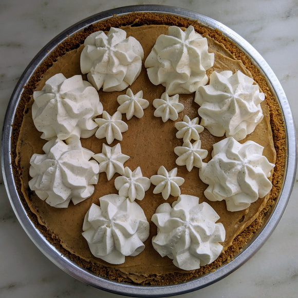Peanut Butter-Milk Chocolate Pie