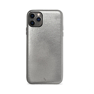 Pebble - Silver Metallic IPhone 11 Pro Max Case