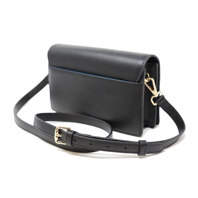 Match - Black Quilted Crossbody