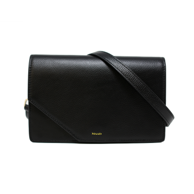 Match - Black Asymmetric Crossbody