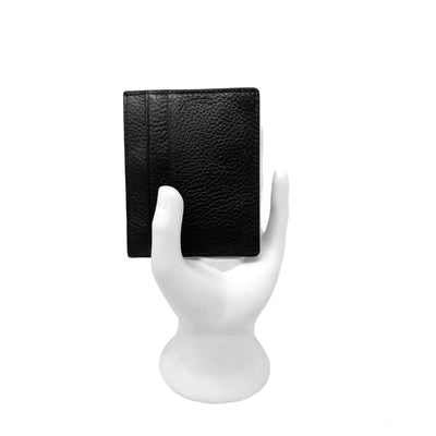 Black Pebble Card Holder