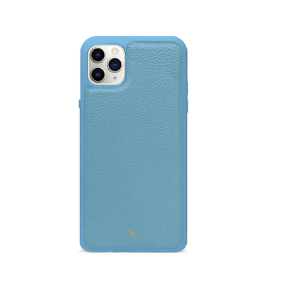MAAD Classic - All Baby Blue IPhone 11 Pro Max Leather Case