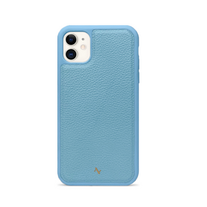 MAAD Classic - All Baby Blue IPhone 11 Leather Case