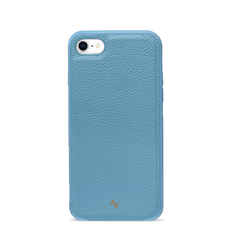 MAAD Classic - All Baby Blue IPhone 7/8/SE Leather Case