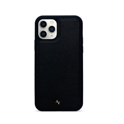 MAAD Classic - Black IPhone 11 Pro Leather Case