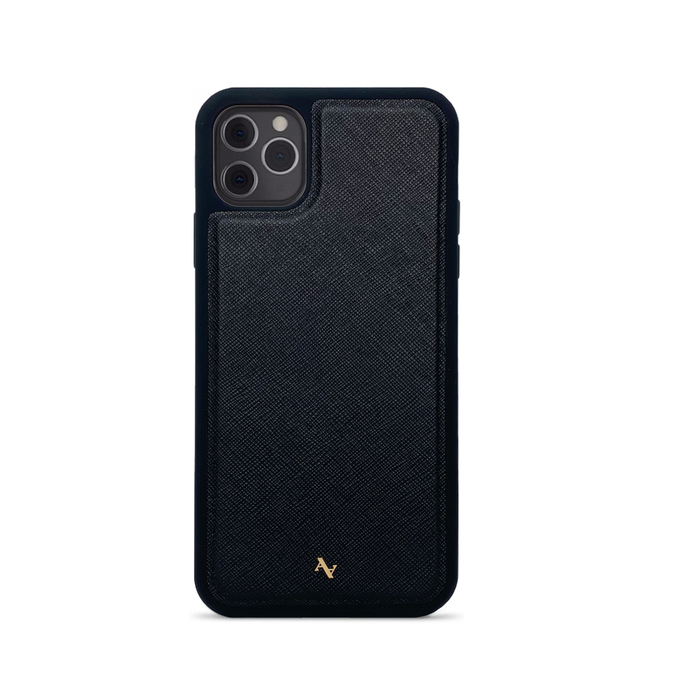 MAAD Classic - Black IPhone 11 Pro Max Leather Case