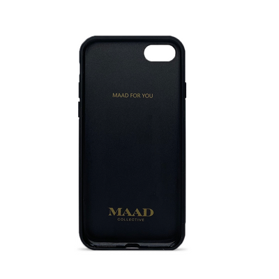 MAAD Classic - White IPhone 7/8/SE Leather Case