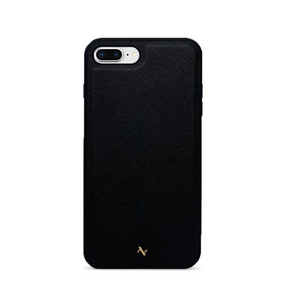 MAAD Classic - Black IPhone 7/8 Plus Leather Case
