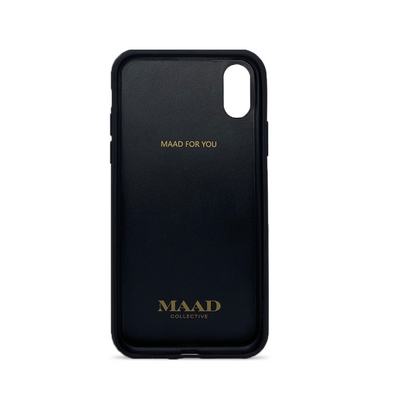 MAAD Classic - Blush IPhone X/XS Leather Case