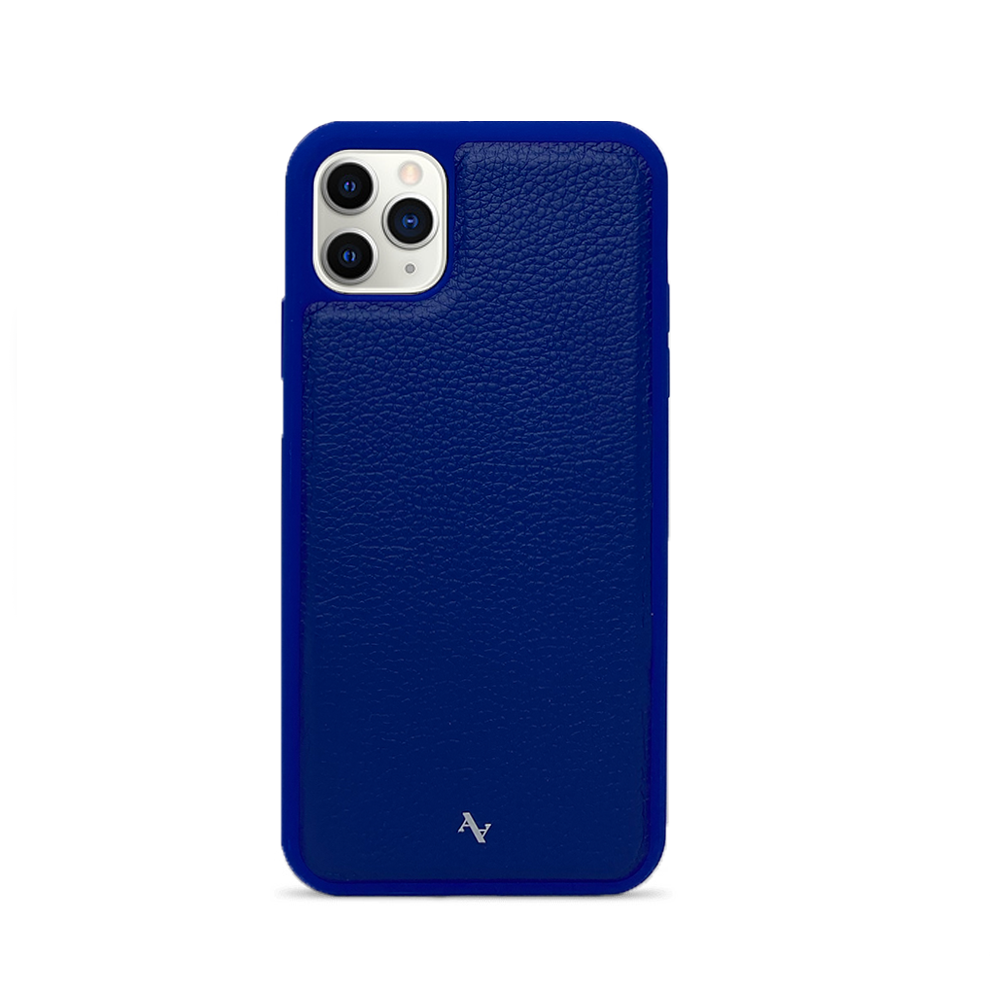 MAAD Classic - All Blue IPhone 11 Pro Max Leather Case