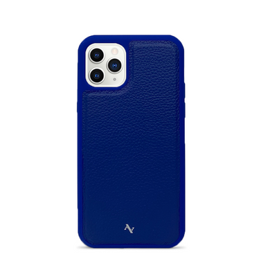 MAAD Classic - All Blue IPhone 11 Pro Leather Case