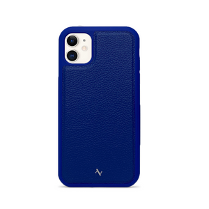 MAAD Classic - All Blue IPhone 11 Leather Case